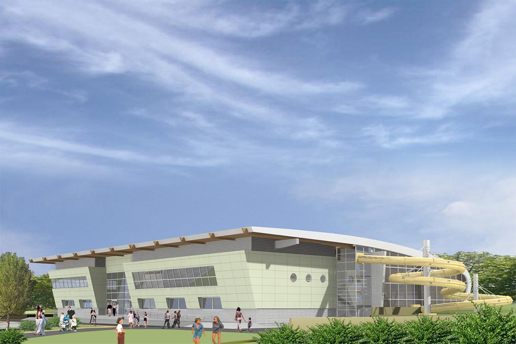 : Centrum sportowo-rekreacyjne w Żninie