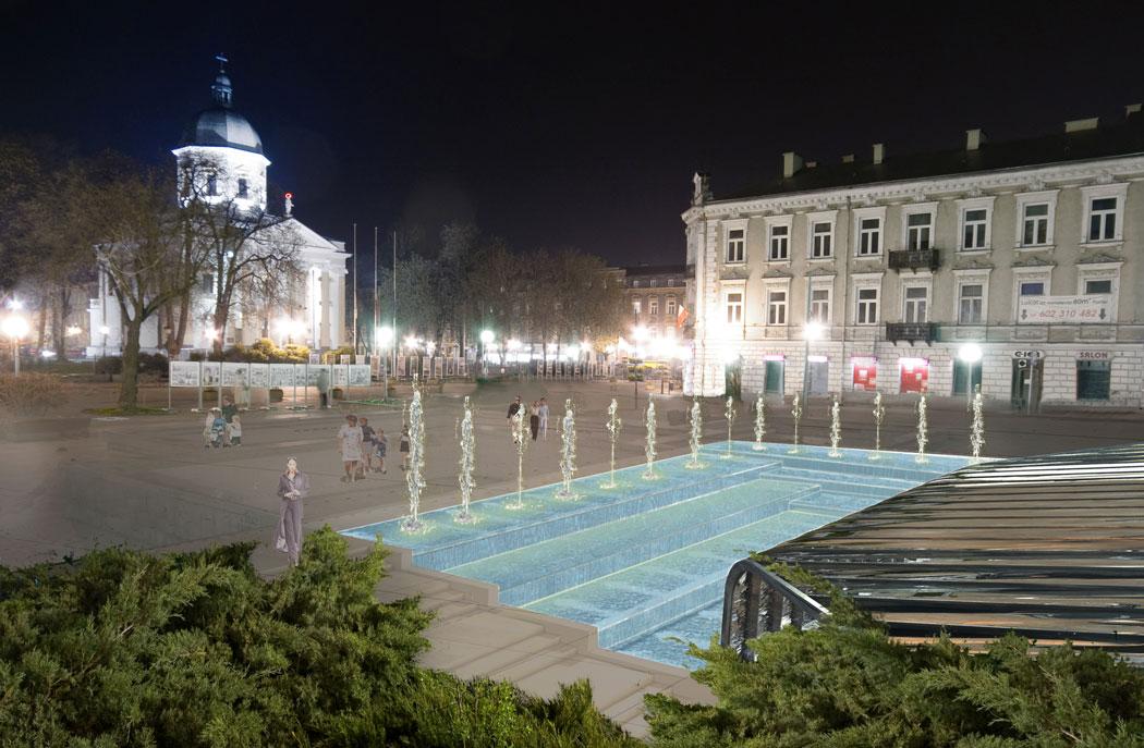 : Koncepcja zagospodarowania terenu fragmentu Placu Konstytucji 3-Maja w Radomiu
